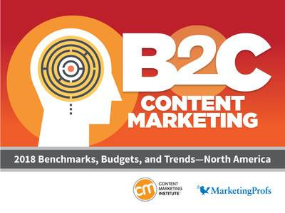 Content Marketing Institute Releases New 2018 Research on State of Business-to-Consumer (B2C) Content Marketing in North America