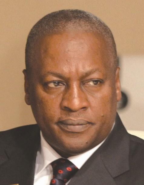 加纳总统 约翰·达玛尼·马哈马