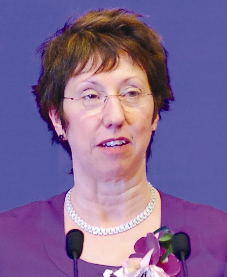 欧盟委员会副主席 巴隆尼斯·凯瑟琳·阿斯顿
