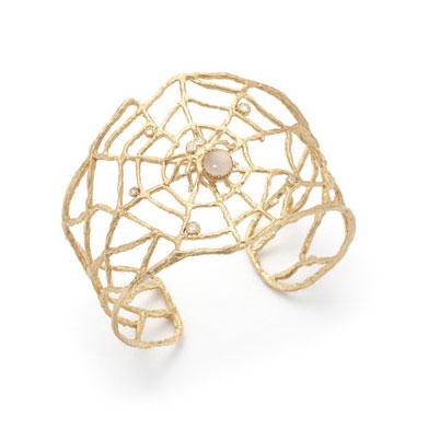 Anna Ruth Henriques spiderweb cuff