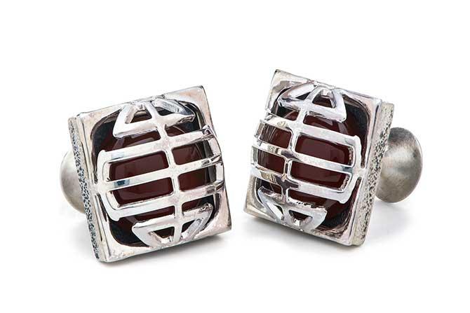 William Henry Mask cufflinks